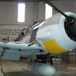 Focke-Wulf Fw 190 A-8 im Luftfahrtmuseum Hannover-Laatzen.