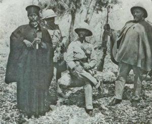 Kaiser Haile Selassie zurück
