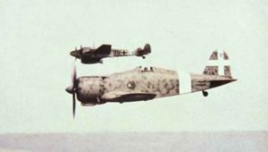 MC200 Saetta mit Bf 110