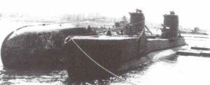 HMS Upholder in Malta
