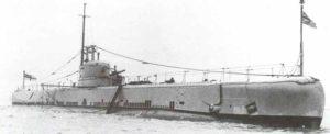 Minenleger-U-Boot 'HMS Rorqual'