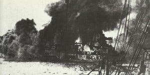 Schlachtkreuzer Seydlitz am Skagerak