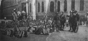 osmanische Mevlevi- Derwisch-Freiwillige