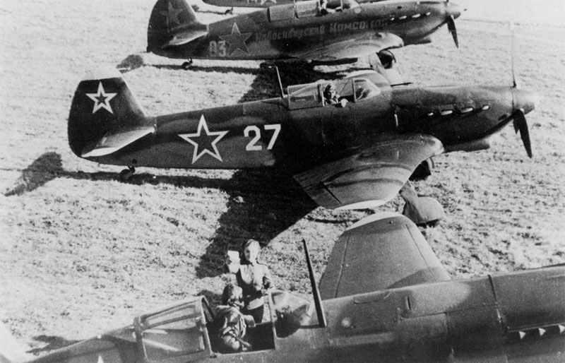 Jakowlew Jak-7DI Jagdflugzeuge