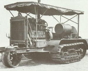 amerikanische Holt-Traktor