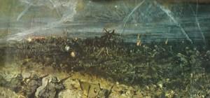 Deutsche Truppen haben einen alliierten Graben genommen