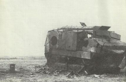 abgeschossene Schneider-Panzer