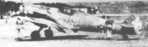 Italienische Bf 109 G-6 der 3. Gruppo Autonomo