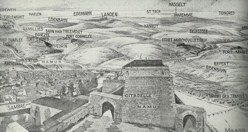 Festungsgürtel von Namur
