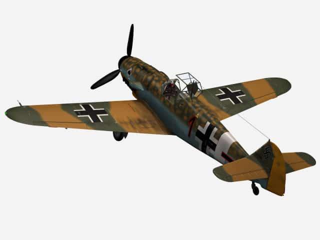 Bf 109 bei Verbündeten