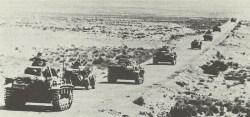 Deutsche Panzer bei Mersa Brega