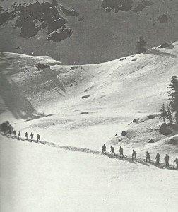 Italienische Alpini-Soldaten
