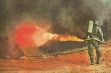 Flammenwerfer-Einsatz