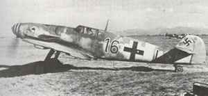 Bf 109 G vom Jagdgeschwader 53