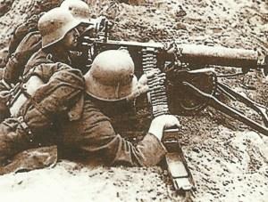 Deutsches MG-Team
