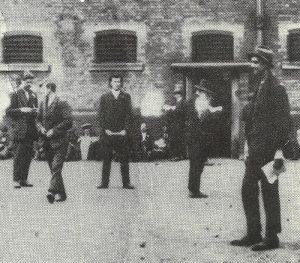 Irische Rebellen in britischen Gefängnis