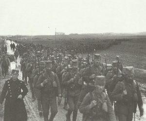 Einheiten der serbischen Armee