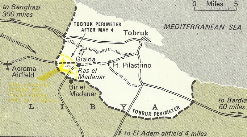 Verteidigungsgürtel von Tobruk