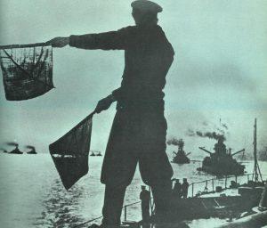 britische Grand Fleet läuft in die Nordsee
