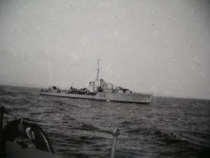 Zerstörer HMS Jersey