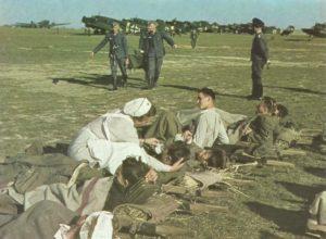 Ju 52 Feldflugplatz Sizilien 1943