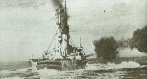 deutsches Linienschiff der Nassau-Klasse