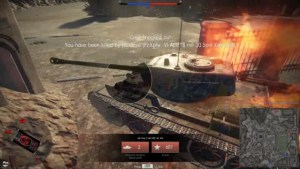 T-44-122 abgeschossen