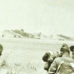Ju 52 auf Flugplatz Topolia