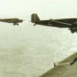Ju 52 erste Welle Kreta