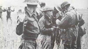 Gefangennahme britischer Soldaten