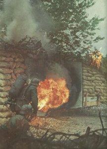 Angriff mit dem Flammenwerfer