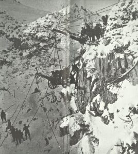 ital Gebirgshaubitze Gipfel Trentino