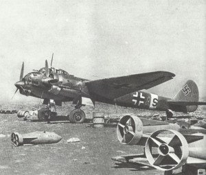 Ju 88 mit 500-kg-Bomben