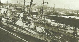 Schäden am Schlachtkreuzer Seydlitz