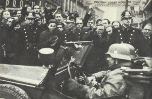 Einmarsch der deutschen Truppen in Prag