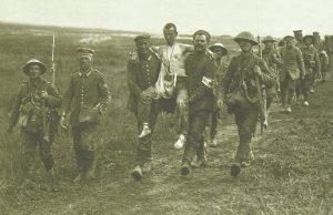 Somme, deutsche Kriegsgefangene