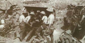 18-Pfünder-Feldgeschütz der britischen Armee