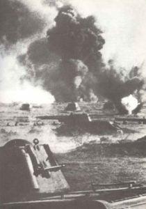 Panzerschlacht im Süden der Ostfront