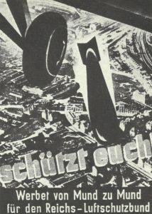 Propagandaplakat des Reichs-Luftschutzbund