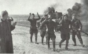 Besatzung v on T-34 ergibt sich