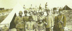 Offiziere der türkischen Truppen Galizien