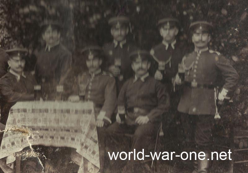 Deutsche Soldaten Kaiserzeit