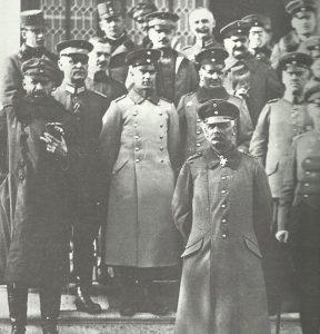 Falkenhayn als Befehlshaber der 9. Armee