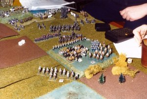Tabletop-Schlacht US-Bürgerkrieg