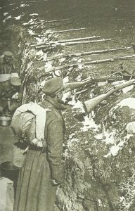 bulgarischer Schützengraben