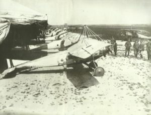 Feldflugpatz des Royal Flying Corps
