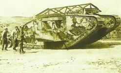 Tank Mk I an der Somme