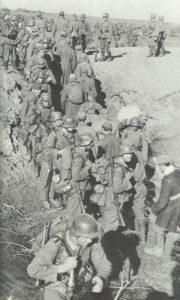 Begegnung im Panzergraben