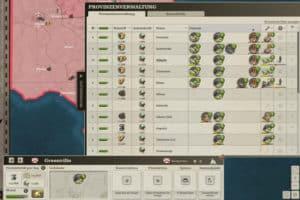 Call of War Provinzverwaltung
