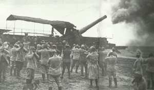 300-mm-Eisenbahnkanone